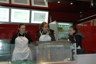 Katharina, Larissa& Aline