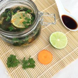 Suppe im Glas vom Blog